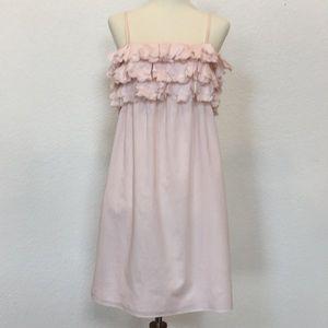 Jcrew pink petal front dress sz XS